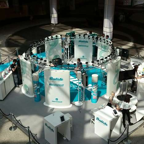 Dry Shampoo Pop-Up Salons - The Batiste Stylist Pop-Up Offered Free Hairstyling at a London Mall