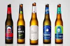 Iconic Brand-Inspired Beers - This Company Transforms Recognizable Brand Identities into Beers