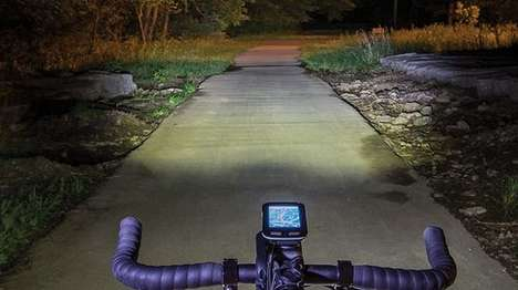 Speed-Responding Bike Headlights - The Varia Headlights Respond to the Rider's Speed