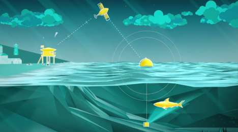 Shark-Detecting Buoys - This Smart Ocean Buoy Detects Sharks and Alerts Lifeguards on the Beach