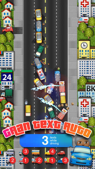Emoji Racing Games - 'Gran Text Auto' Simulates the Dangers of Drivers Texting on the Road