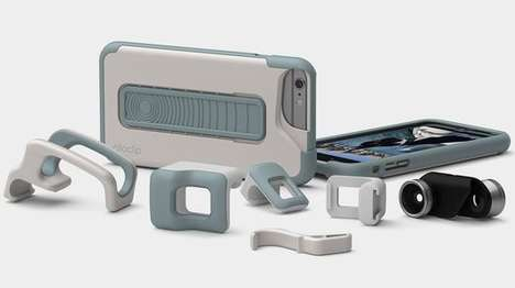 Smartphone Camera Add-Ons - The Olloclip Studio Adds Lenses and Other Accessories To Your Smartphone