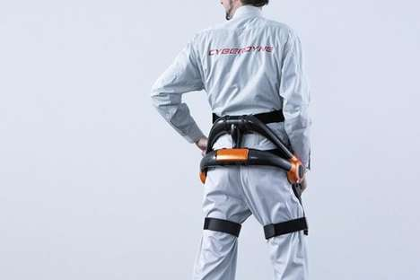Robotic Exoskeleton Suits - These Futuristic Suits Help Japanese Airport Workers Lift Heavy Loads