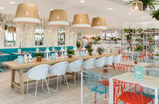 Tropical Oasis Eateries - This Exotic Restaurant Feels Like Tropical Vacation Getaway