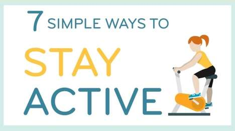 Speedy Activity Charts - This Infographic Explains Ways to Stay Active Even When You Don't Have Time