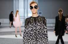 Flamboyant Floral Couture - The Giambattista Valli Fall Couture Collection Offers Explosive Florals