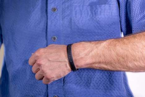 Chemical-Sensing Bracelets - This Smart Bracelet Can Monitor a User's Exposure to Toxic Chemicals