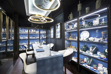 Workshop-Inspired Boutiques - Vase De Delft's Jewelry Shop Channels an Antique Dealer's Workroom