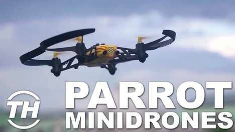Playful Toy Drones - Parrot Makes Innovative and Fun Minidrones for Children to Play With