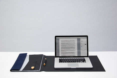 Simple Foldable Offices - Devide by Rami Santala is a Helpful Accessory for Remote Workers