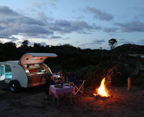Retro Camping Vehicles