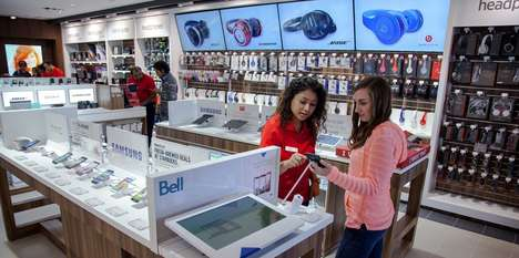 Experiential Electronic Stores - The Source's New Toronto Location Provides Many Hands-On Stations