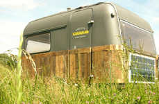 Rustic Mobile Offices - These Mobile Micro Offices Help Workers Escape the Office Cubicle