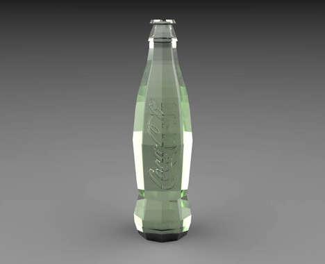 Contoured Soda Bottles