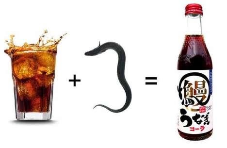 Eel-Flavored Sodas - Kimura Inryou's 'Unagi Cola' Boasts a Unique Drink Flavor