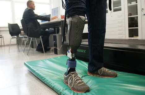 Sensation-Restoring Prosthetics - These Artificial Limbs are Rewired to a Patient's Nerve Endings