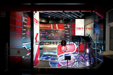 Interactive Sports Anchor Exhibits - The TSN SportCentreStudio Series Gives Fans a New Experience