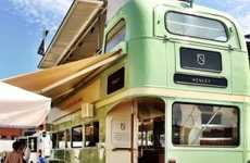 This Sparkling Wine Party Bus is an Upcycled 1968 London Routemaster