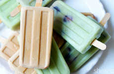 Frothy Tea Popsicles