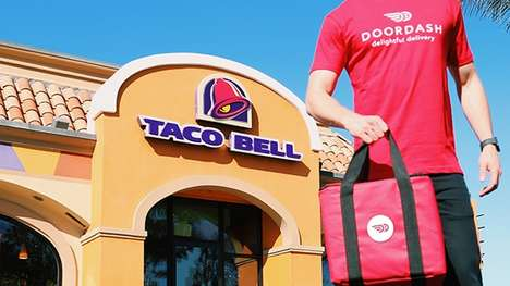 On-Demand Taco Deliveries - The Taco Bell Chain Has Officially Launched a Fast Food Delivery Service