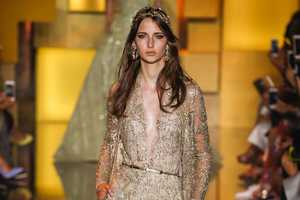 The Latest Elie Saab Couture Collection Offers Princess Gowns with Angst