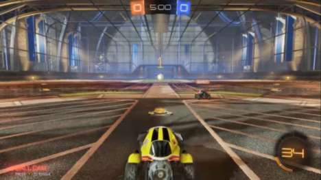 Automotive Soccer Games - The Rocket League Video Game Combines Soccer and a Demolition Derby