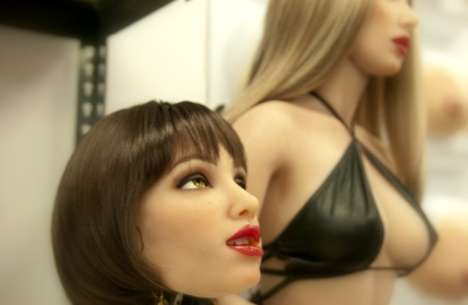 Artificial Intelligence Adult Dolls - The Realbotix by Abyss Creations Will Talk, Text and Email