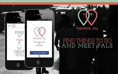 Tourist Companion Apps - The 'Trippers Pal' App Helps Put Travelers in Touch with Locals