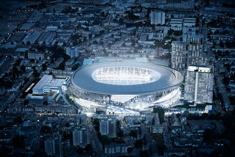 Doughnut-Shaped Stadiums - This Football Stadium Has a Retractable Pitch to Accommodate the UK & US