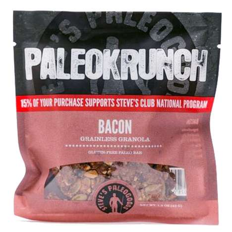 Bacon-Flavored Granola - The New Seasonal 'PaleoKrunch Bars' are Infused with Real Bacon Bits