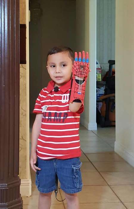 Printed Superhero Prosthetics - A Group of Eighth Graders Created This 3D-Printed Arm for a Child