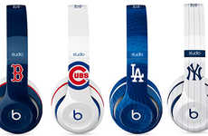 Baseball-Inspired Headphones