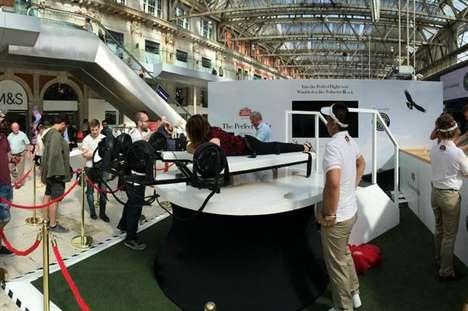 Virtual Flight Experiences - Stella Artois Presented a VR-Powered Bird's Eye View of Wimbledon