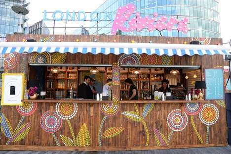 Vibrant Pop-Up Vodka Bars - The Ciroc 'London Riviera' Pop-Up Will Be Open for Five Months