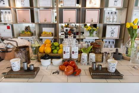 Pop-Up Bloody Mary Bars - Vodka Brand Ketel One is Hosting a Summertime Pop-Up Bar in London