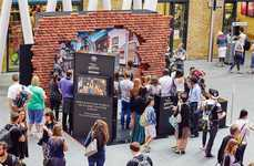 Wizardly Brand Activations - This Diagon Alley Event Took Place at London's King's Cross Station