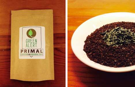 Green Tea-Infused Coffee - This Unique Coffee Blend Features Hints of Green Tea Flavor