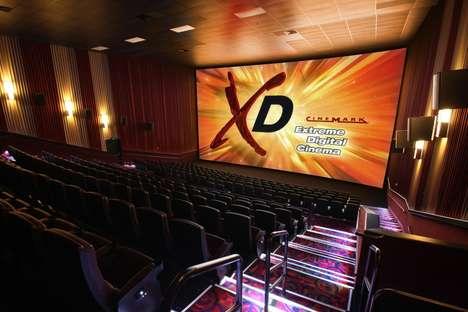 Floor-to-Ceiling Theater Screens - Cinemark's 50,000 NextGen Theater Will Host a Huge XD Auditorium