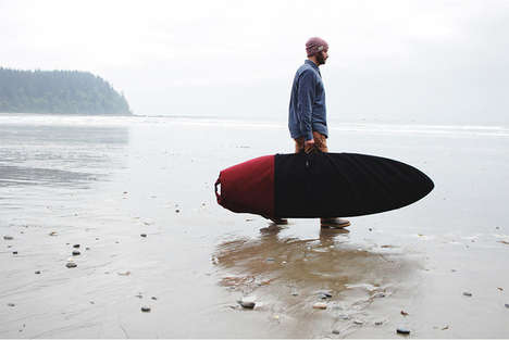 Durable Surfboard Bags - This Roll Top Bag Helps Protect Surfboards from the Elements