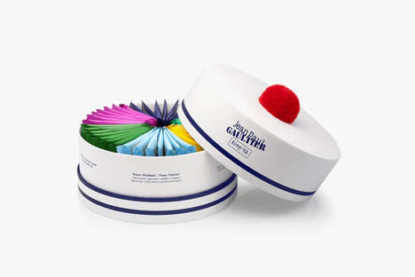 Cobranded Designer Teas - These Kusmi Tea Tins Were Designed by Jean Paul Gaultier