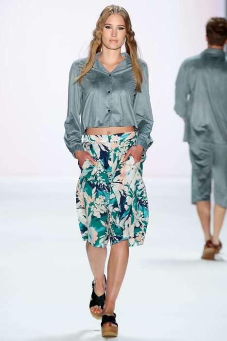 Relaxed Tropical Fashion - ThisBarre Noire Spring Collection Brought Effortless Island Style to MBFW
