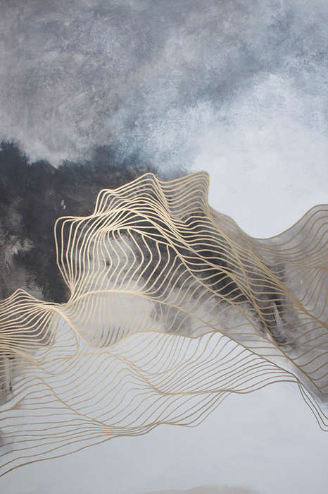 Ethereal Abstract Paintings - Tracie Cheng Uses Her Architectural Background in Striking Images
