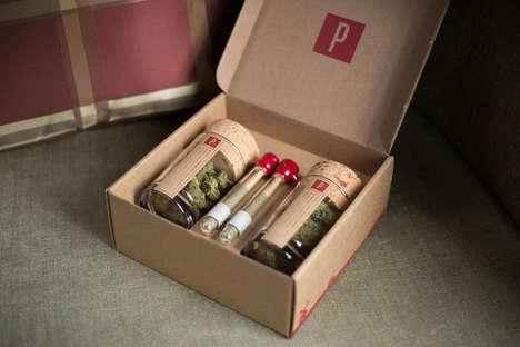 Custom Marijuana Subscriptions - Potbox Delivers Marijuana According to Smoker Preferences