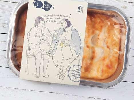Emotive Food Packaging - This Rustic Packaging Range Uses Emotional, Story-Based Marketing
