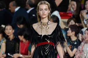 This Valentino Fall Couture Collection Revives Traditional Italian Style