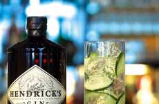 Interactive Cocktail Websites - This Site Shares How-To Videos to Make Hendrick's Gin Drinks