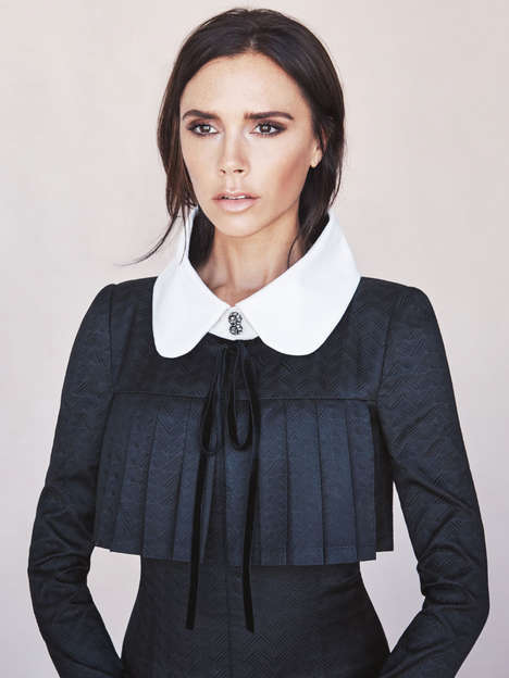 Glamorous Mennonite Editorials - Victoria Beckham Stars in Vogue Australia's Latest Issue