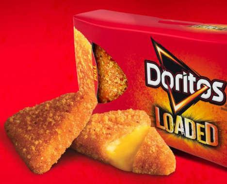 Chip-Encrusted Fries