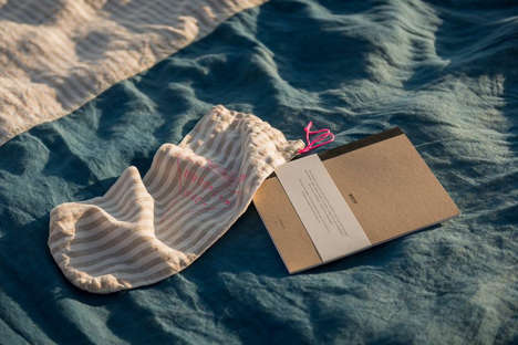 Comfy Notebook Collaborations - AllSwell Creative and Brooklyn Beach Teamed Up With a Blanket Set