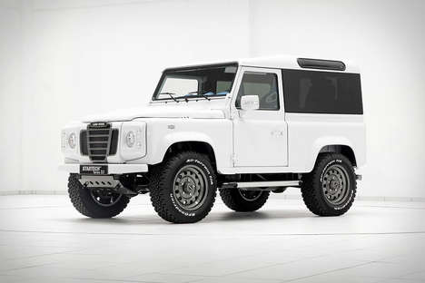 Customized Luxury Jeeps - The Startech Land Rover Defender is Full of Unique Details and Parts